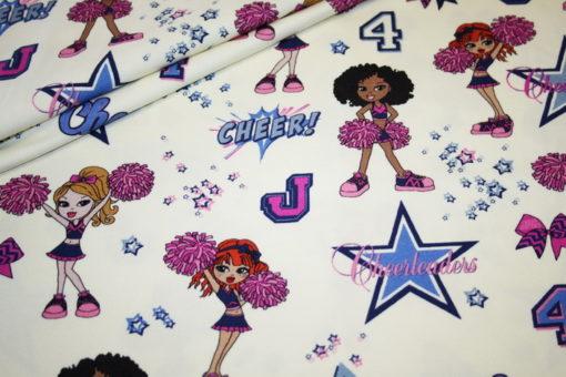 renee-d.de Onlineshop: Hilco Jersey Stoff Cheerleader