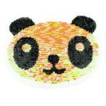 Streichpailetten Applikation Panda Bär bunt
