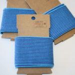 Cuff Bündchen Streifen blau 1,10m