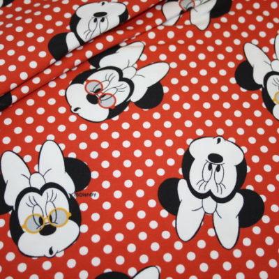renee-d.de Onlineshop: Jersey Stoff Retro Minnie Maus