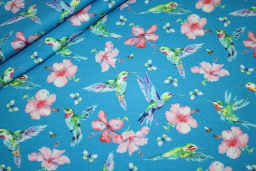 renee-d.de Onlineshop: Sweatshirt Stoff Blumen