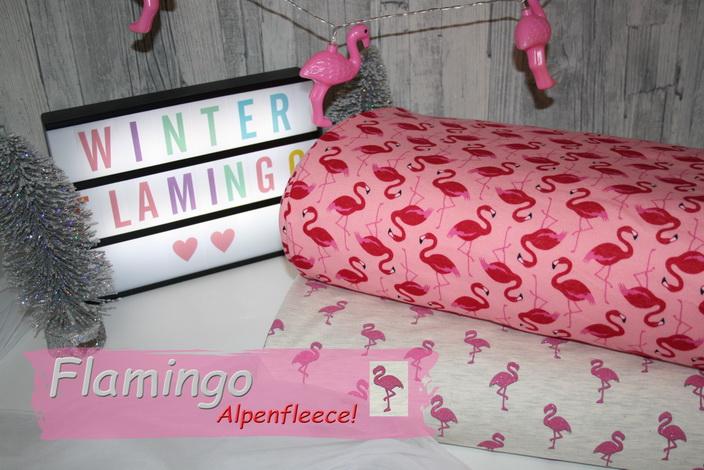 Flamingo Alpenfleece!
