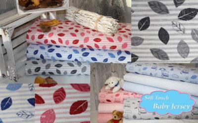 NEU Soft Touch Blätter Jersey!