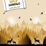 VORBESTELLUNG  Lycklig Design Sweatshirt Stoff Wild Shadows Hirsch senf gelb
