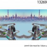 Stenzo Jersey Stoff Digitaldruck Panel Autos Rennbahn