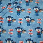 Hilco Jersey Stoff Cowboy blau