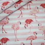 Hilco Baumwollstoff Flamingo Fever rosa