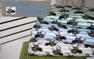 French Terry Trecker Stoff!