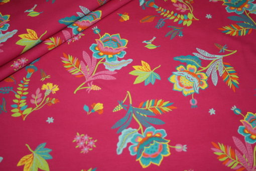 Artikel aus dem renee-d.de Onlineshop: Jersey Stoff Blumen Stenzo