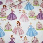 Stenzo Jersey Stoff Digitaldruck Prinzessin rosa