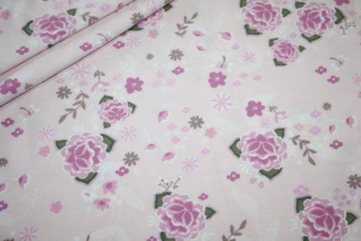Artikel aus dem renee-d.de Onlineshop: Jersey Stoff pastell Blumen