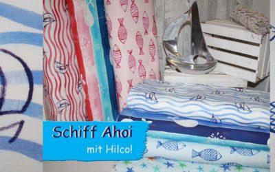 Schiff Ahoi mit Hilco!