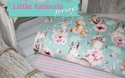 Little Animals Jersey Stoff ist wieder Da!!