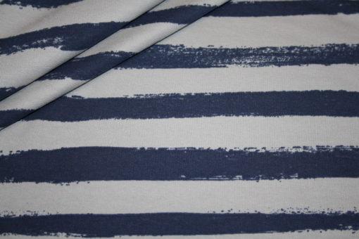 Artikel aus dem renee-d.de Onlineshop: Sweatshirt Stoff Streifen