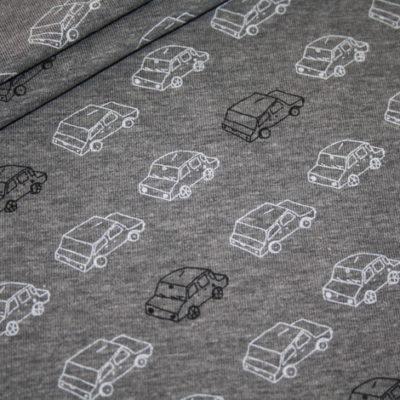 Artikel aus dem renee-d.de Onlineshop: Car Traffic Jersey Stoff