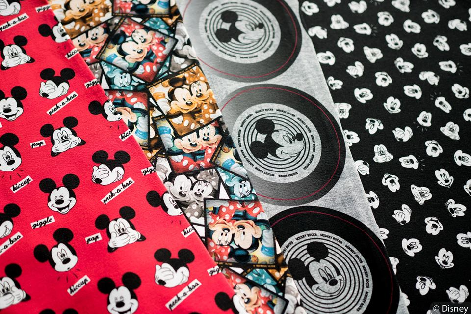 Mickey Maus Jersey Stoffe!
