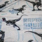 Original Jurassic World Jersey Stoff Dinosaurier