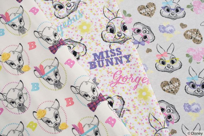 Original Walt Disney Bambi und Klopfer Jersey!