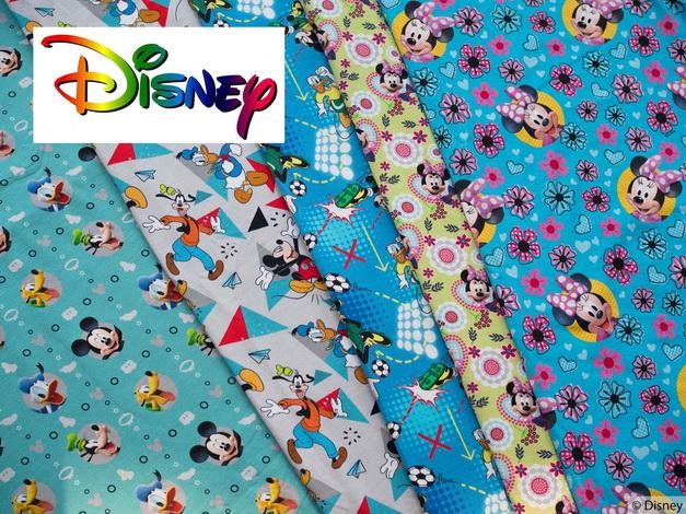 Neue Disney Jersey Stoffe!