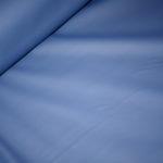 Dünner Regenjacken Stoff Wachstuch blau