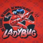 Original Miraculous Jersey Stoff Panel Ladybug