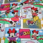 Original Walt Disney Jersey Stoff Minnie Maus bunt