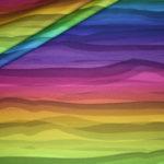 Wavy Stripes by Lycklig Design Jersey Stoff bunt