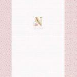 Stenzo Jersey Stoff Digitaldruck Baby Panel  altrosa New Born