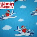 Benjamin Blümchen Soft Shell Softshell Outdoor Jackenstoffe blau