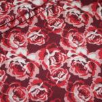 Stenzo Jersey Stoff pink rot Rosen