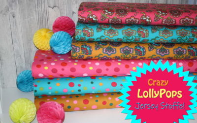 Crazy Lollypops Jersey Stoffe!