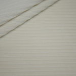 Jersey Stretch Cord Stoff creme