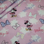 Original Walt Disney Baumwollstoff Minnie Maus Schleifen