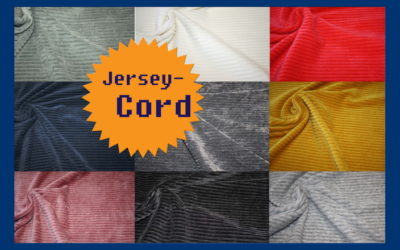 Jersey-Cord Stoffe!