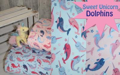 Sweet Unicorn Dolphins!