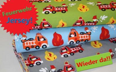 Feuerwehr Jersey Stoff!