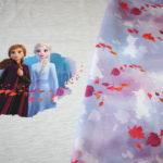 Walt Disney Jersey Stoff Panel Die Eiskönigin 2 Frozen Anna Elsa