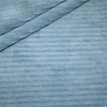 Jersey Stretch Cord Stoff blau