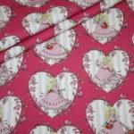 Steinbeck Jersey Stoff pink rosa Prinzessin Anneli