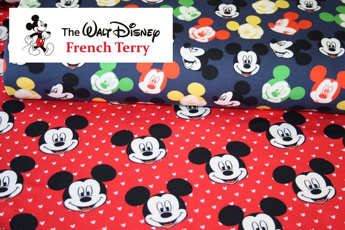 Walt Disney Sweatshirt Stoffe!