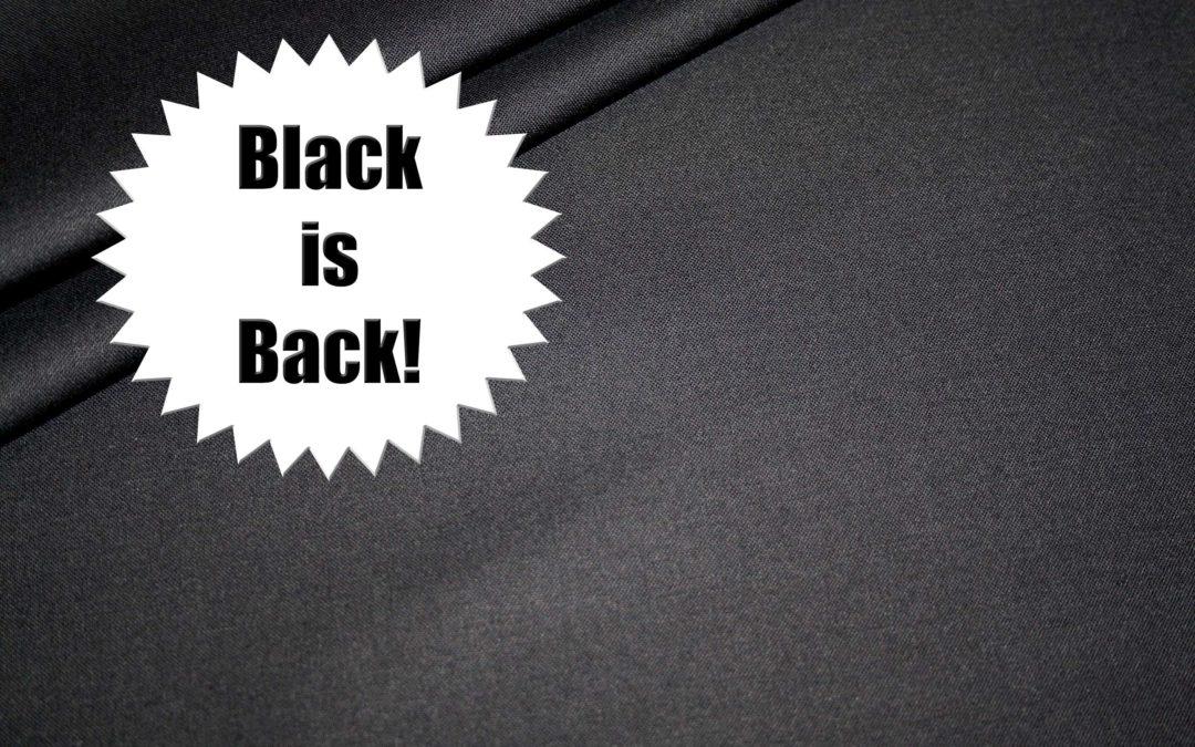 ??Black is Back!!??