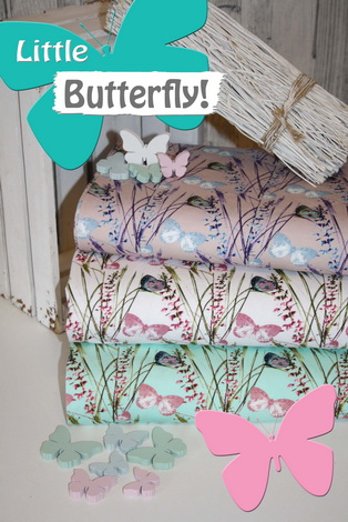 Kleiner Schmetterling!