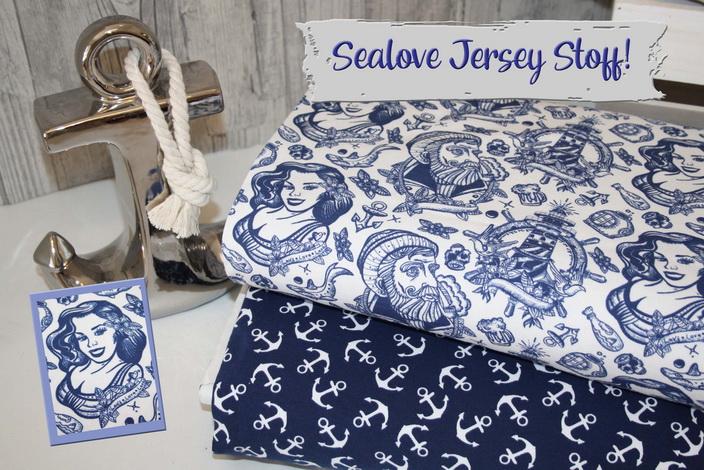 Sealove Jersey Stoff!