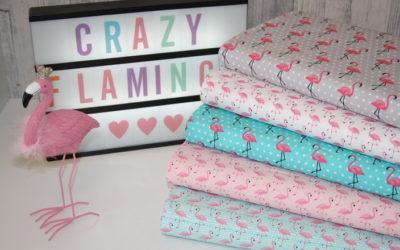 Flamingo Baumwollstoff!