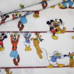 Original Walt Disney Baumwollstoff Mickey Maus and Friends