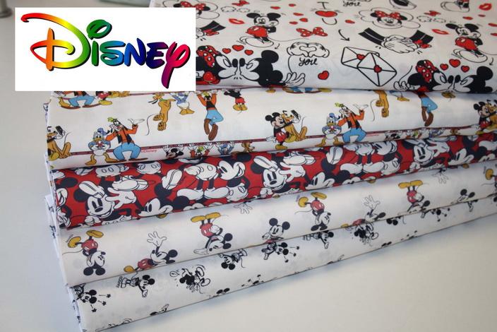 Walt Disney Baumwollstoffe!