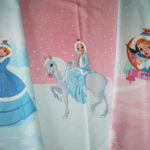 Stenzo French Terry Jersey Stoff Panel Winter Prinzessin