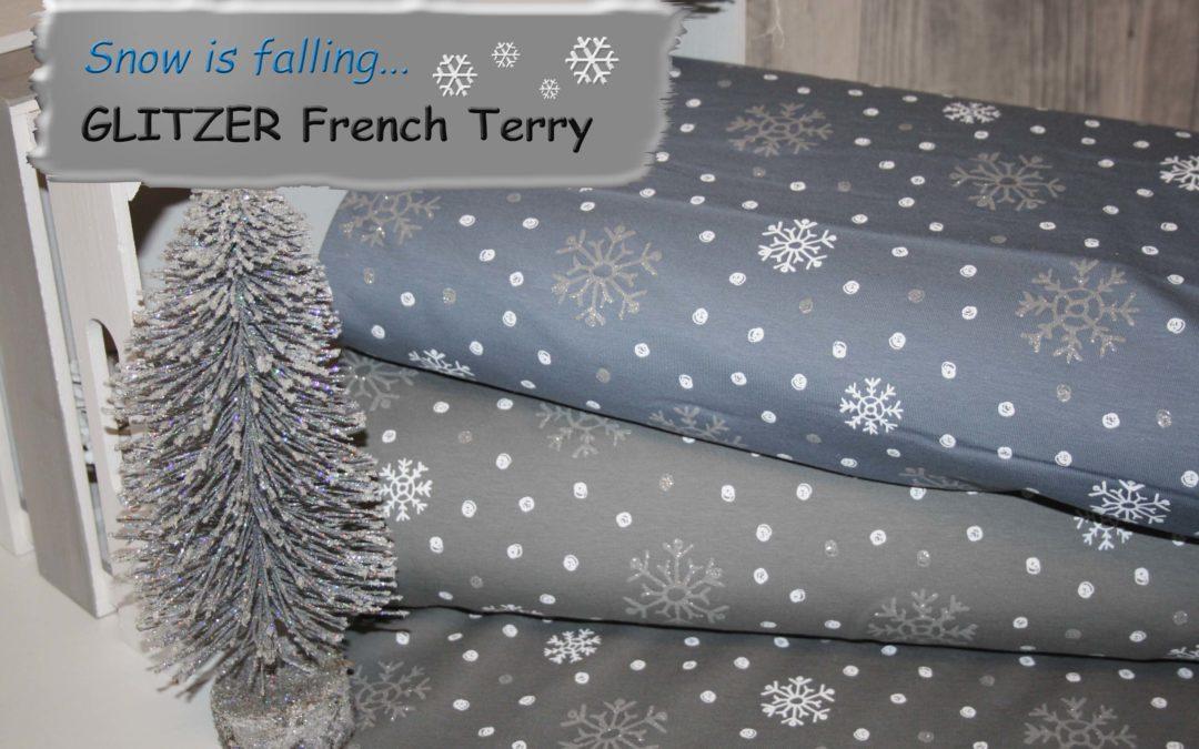 GLITZER French Terry!!