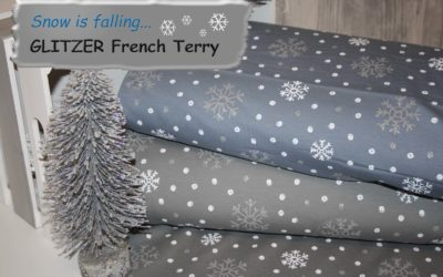 GLITZER French Terry!!