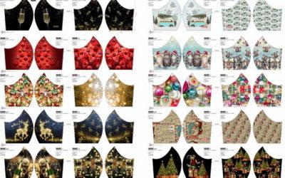 Weihnachts-Masken-Panel!